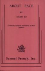 About face: A political farce - Dario Fo, Ron Jenkins