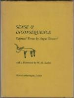 Sense & Inconsequence: Satirical Verses - Angus Stewart