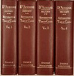 History of the Reformation in Europe in the Time of Calvin (4 Volumes) - Jean Henri Merle d'Aubigné