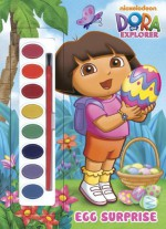 Egg Surprise (Dora the Explorer) (Paint Box Book) - Golden Books, Golden Books