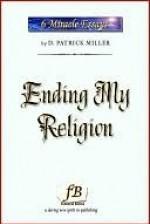Ending My Religion - D. Patrick Miller