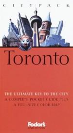 Fodor's Citypack Toronto - Marilyn Wood
