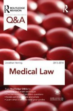 Q&A Medical Law 2013-2014 - Jonathan Herring