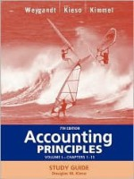 Accounting Principles, Study Guide, Vol. 1, Chapters 1-13 - Jerry J. Weygandt, Paul D. Kimmel, Donald E. Kieso