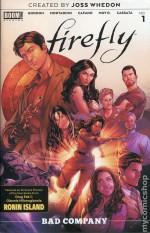 Firefly #1 - Greg Bear, Lee Garbett, Marcelo Costa