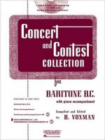 Concert and Contest Collection for Baritone B.C. - Book/CD Pack - H. Voxman