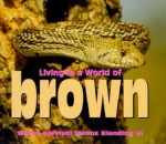 Living in a World of Brown: Where Survival Means Blending in - Tanya Lee Stone