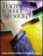 Teachers, Schools, And Society - Myra Pollack Sadker, David Miller Sadker