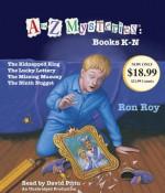 A to Z Mysteries: Books K-N - Ron Roy, David Pittu