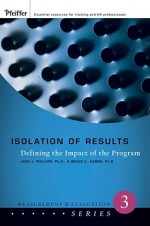 Isolation of Results: Defining the Impact of the Program - Jack J. Phillips
