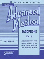 Rubank Advanced Method: Saxophone, Vol. II - William Gowe