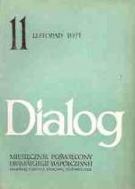 Dialog, nr 11 / listopad 1971 - Kazimierz Kutz, Leonid Andrejew, Leonid Leonow, Redakcja miesięcznika Dialog