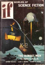 Worlds Of If Science Fiction, October 1955 (Volume 5, No. 6) - Charles Allen Beaumont, Alan E. Nourse, Henry Still, Charles Beaumont, Robert F. Young, Arthur Sellings, Edward W. Ludwig, Irving E. Cox Jr.