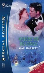 Where He Belongs - Gail Barrett