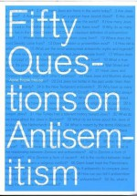 Fifty Questions on Antisemitism - Jaap Tanja, Anne Frank House