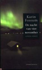 De nacht van vier november - Karin Fossum, Annemarie Smit