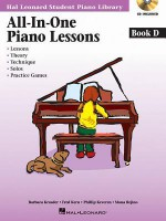 All-In-One Piano Lessons Book D - Fred Kern, Barbara Kreader, Phillip Keveren