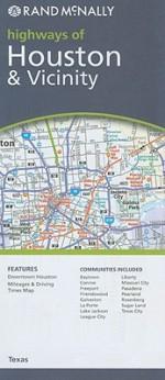 Houston, Texas Map - Rand McNally