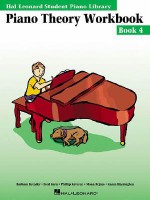 Piano Theory Workbook - Book 4: Hal Leonard Student Piano Library - Barbara Kreader, Fred Kern
