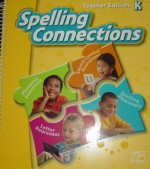 ZB Spelling Connections Grade K Teacher Edition NEW by Zaner-Bloser - Ph. D. J. Richard Gentry