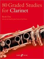 80 Graded Studies for Clarinet, Book 1 - John Davies