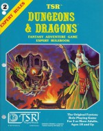 Dungeons & Dragons Fantasy Adventure Game Expert Rulebook - Gary Gygax, Dave Arneson, David Zeb Cook, Steve Marsh, Jeff Dee, Erol Otis