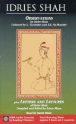Observations plus Letters and Lectures of Idries Shah - Idries Shah, Adam Musa, David Wade