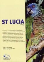 St Lucia Map - Sue Thomas, Linzi Henry