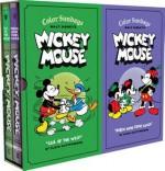 Walt Disney's Mickey Mouse Color Sundays Gift Box Set - Floyd Gottfredson, David Gerstein, Gary Groth