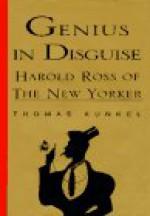 Genius in Disguise:: Harold Ross of The New Yorker - Thomas Kunkel, Harold Ross
