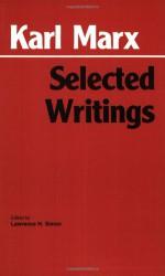 Selected Writings - Karl Marx, David McLellan