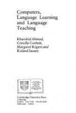 Computers, Language Learning and Language Teaching - Khurshid Ahmad, Margaret Rogers