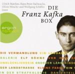 Die Franz Kafka Box: Die Verwandlung / Das Urteil / In der Strafkolonie / Ein Landarzt / Auf der Galerie u.a. - Franz Kafka, Wolfgang Schiffer, Ulrich Matthes, Oliver Nitsche, Hans Peter Hallwachs