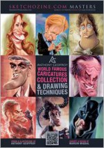 Anthony Geoffroy: World Famous Caricatures Collection & Drawing Techniques - Mad Artist Publishing, Anthony Geoffroy, Marcin Migdal, Arnaldo Pedroza Quintini