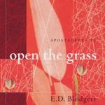 Apostrophes VI: Open the Grass - E.D. Blodgett