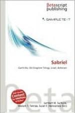 Sabriel - Lambert M. Surhone, VDM Publishing, Susan F. Marseken