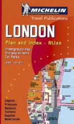 Michelin London Mini Spiral Atlas No. 2034 (Michelin Maps & Atlases) - Michelin Travel Publications