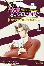 Miles Edgeworth: Ace Attorney Investigations 1 by Kenji Kuroda (31-Jul-2012) Paperback - Kenji Kuroda