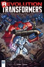Transformers: Revolution #1 - John Barber, Andrew Griffith, Marcelo Matere