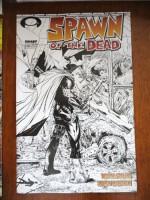 "Spawn #223 ""Black & White Sketch Variant"" - Todd McFarlane, Szymon Kudranski"
