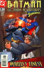 Batman: Gotham Adventures #36 - Bob Smith, Terry Beatty, Nathan Eyring, Scott Peterson, Tim Levins, Lee Loughridge, Tim Harkins