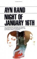 The Night of January 16th - Ayn Rand