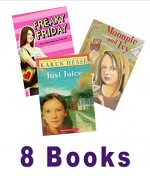Girls Book Pack: Moonpie and Ivy; Freaky Friday; the Great Mom Swap; Just Juice; My Last Best Friend - Ann M. Martin, Betsy Haynes, Kären M. Hess, Betty G. Birney, Barbara O'Connor
