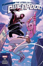 Gwenpool, The Unbelievable (2016-) #5 - Christopher Hastings, Irene Strychalski, Stacey Lee