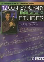 12 Contemporary Jazz Etudes: B-Flat Tenor Saxophone (Book & CD) - Bob Mintzer