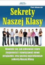 Sekrety naszej klasy - e-book - Piotr Adamczyk
