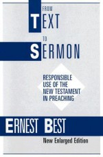 From Text to Sermon - Ernest Best