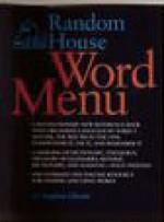 Random House Word Menu: New and Essential Companion to the Dictionary - Stephen Glazier