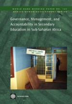 Governance, Management, and Accountability in Secondary Education in Sub-Saharan Africa - World Bank Publications