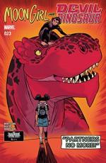 Moon Girl and Devil Dinosaur (2015-) #23 - Natacha Bustos, Brandon Montclare